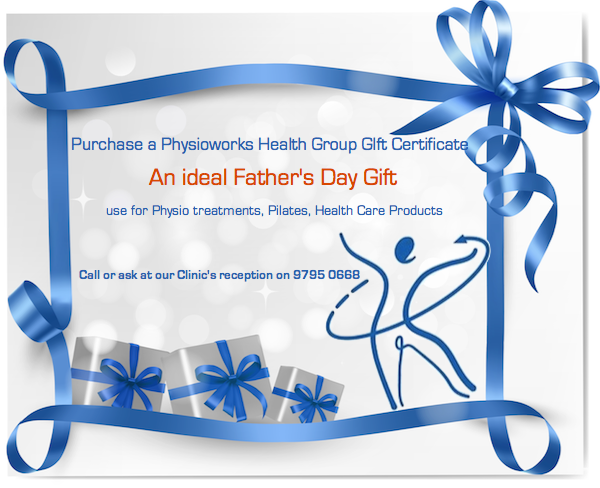 Physioworks Fathers Day gift
