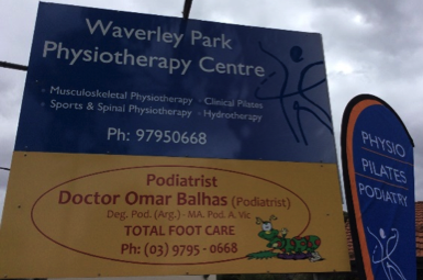 Contact Waverley Park Physio Centre